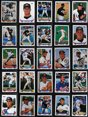 1993 Topps Baseball Traded Complete Your Set Baseball Cards You U Pick From List