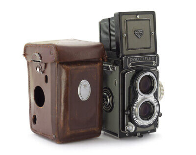 Rolleiflex T #2133478 TLR Camera with Tessar 3.5/75 mm