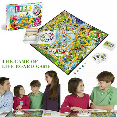 The Game of Life Traditional Board Game Fun Family Game Party Game Creative Gift