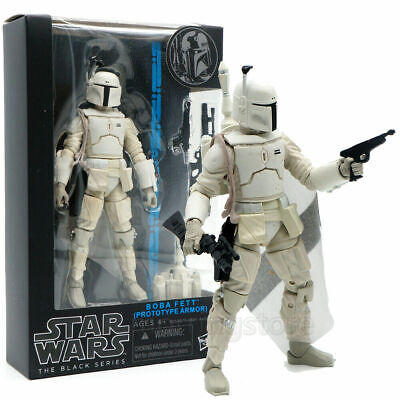 "Star Wars The Black Series Prototype Boba Fett Stormtrooper 5"" Action Figure Toy"