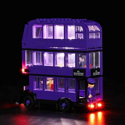 LED Light Up Kit Fits LEGO 75957 The Knight Bus Lighting Set Building Kit Bus UK