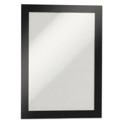 DURABLE DURAFRAME 5-1/2 x 8-1/2 Inches Self-Adhesive Magnetic Sign Holder, Half-