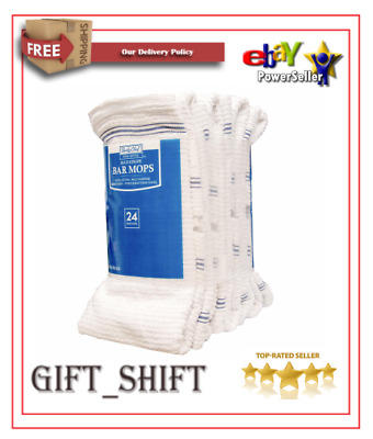 """Daily Chef Bar Mops, 16"""" x 19"""" (24 ct.) FREE SHIPPING"""
