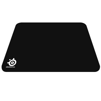 Black Anti-Slip Rubber Gaming Mouse Pad Mass Steelseries Qck Size 210*260*2mm