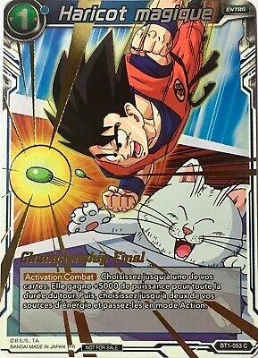 SD2 The Extreme Evolution 1 carte foil offerteDragon Ball Super SD02 ST FR