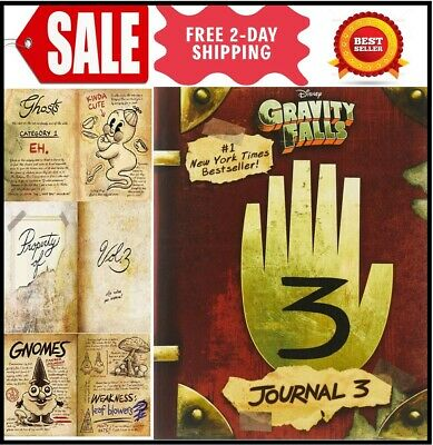 Gravity Falls: Journal 3 2nd edition by Alex Hirsch Hardcover New