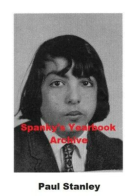 1960s School Yearbook band KISS front-man PAUL STANLEY ~ Rock and Roll All Nite