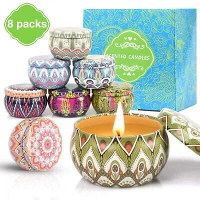 prefeco Scented Candles,Aromatherapy Candles Gift Package Natural Soy Wax