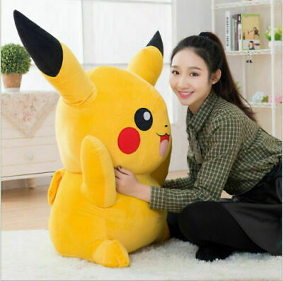 Giant Large Pokemon Pikachu Plush Soft Toy Stuffed Doll Kids Birthday XMAS6Gifts