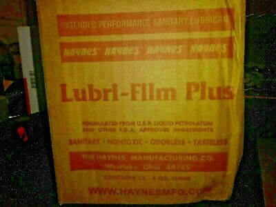 12- NEW Lubri Film Haynes Food Grease Lubricant Grease