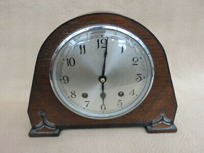 Vintage Art Deco Garrard Striking Mantel Clock For Tlc
