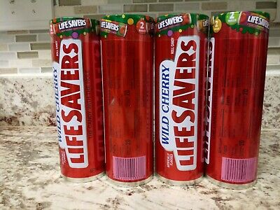 NEW Wild Cherry Life Savers tin sealed with candies