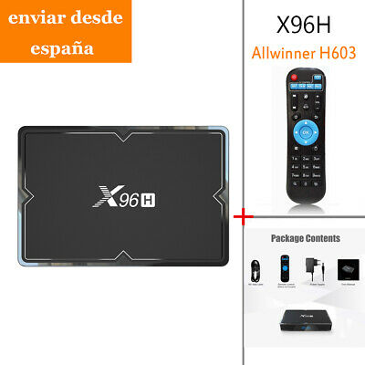 Allwinner H603 TV Box Android 9.0 4GB+64GB 6K*4K HD HDMI IN&OUT Media Player BT