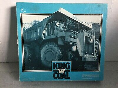 Rare * King Coal * Board Game * Promotional WESTAR Mining!!! Coal Mine