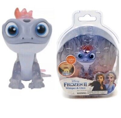 NEW Disney Frozen 2 II Whisper And Glow & Light Up Figure Bruni The Salamander
