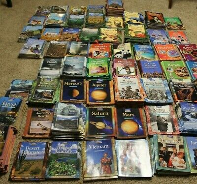 Huge Lot 808 National Geographic Class Theme Sets Guided Student Readers VGC