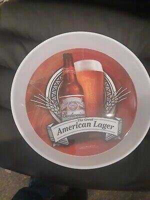 old budweiser beer tray