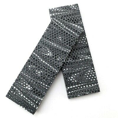 1 Pair Anti-slip Snakeskin Handle Patches Resin Scales for DIY Blade/Tool Holder