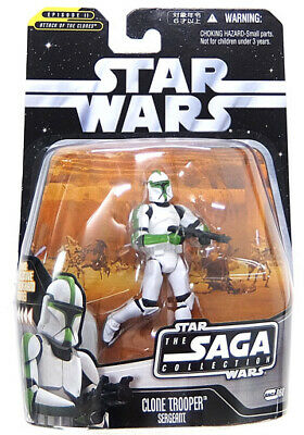 Figure Clone Trooper Sargent Star Wars Episode 3 / Revenge Of The Sith Saga