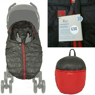 NEW Mothercare Universal Compact Cosytoes Footmuff Stroller Pushchair Liner Grey