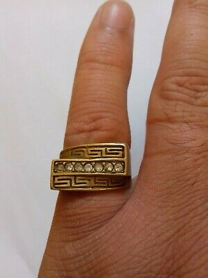 Ancient Rare Roman RING Bronze Legionary  Extremely Authentic Artifact
