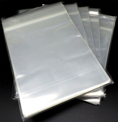 5 x 100 Docsmagic.de Resealable Regular Size Comic Bags 184 x 266 - 2 Mil - Hüll