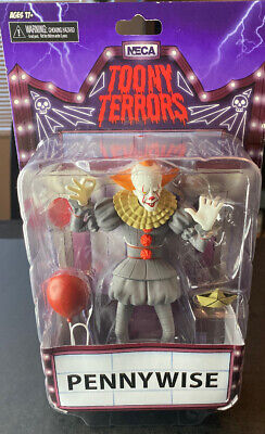 """NECA Toony Terrors IT movie 2017 PENNYWISE clown 6"""" Scale Action Figure"""