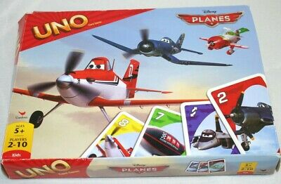 Disney Pixar Planes Uno Card Game Classic Card Game  Brand New Free Shipping