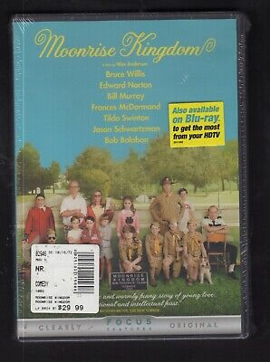 Moonrise Kingdom (DVD, 2012) FACTORY SEALED