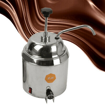 Commercial 3.8L Hot Chocolate Cheese Heating Machine Dispenser Warmer 500W 4kg
