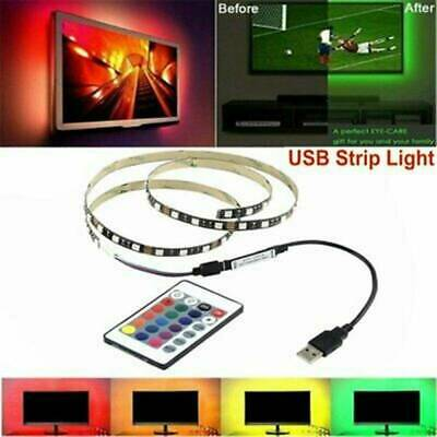 5V USB Powered RGB LED Strip Light Backlight for LCD TV PC Computer Case Monitor