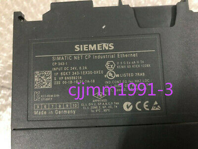 1PC Used Siemens 6GK7 343-1EX30-0XE0 Tested #Y1