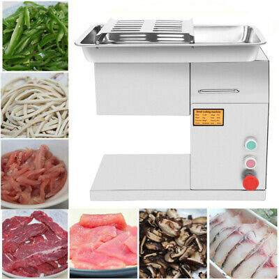 550W Commercial Electric Safe Slicing Shredding Cutting Machine Meat Cutter
