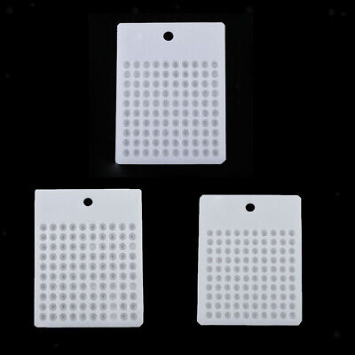 Plastic Bead Counter Round Bead Counting Board for Gemstone Pearl Jewelry Making