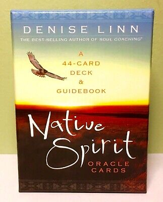 Native Spirit Oracle Cards 44 Card Deck & Guidebook by Denise Linn