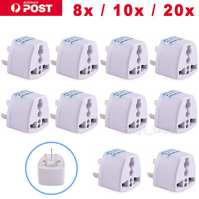 UK/US/EU Universal to AU AUS Australian Power Plug Adapter 3 pin Converter