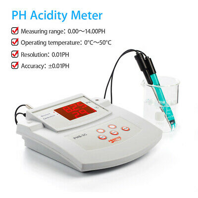 PHS-3C High Accuracy Thermometer PH Meter Multi Parameter Automatic Calibration