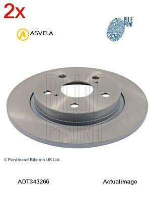 Brake Disc For Toyota Auris E15 2Ad Fhv 1Ad Ftv 1Nd Tv 1Zr Fe 4Zz Fe Blue Print