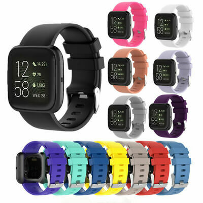 Replacement Silicone Band Strap Bracelet for Fitbit Versa 2/Versa Lite/Versa