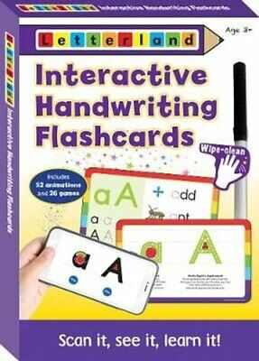Interactive Handwriting Flashcards by Lisa Holt 9781782484219 | Brand New