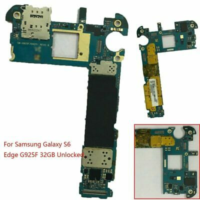 For Samsung Galaxy S6 Edge G925F 32GB Main Board Motherboard Unlock Replacement