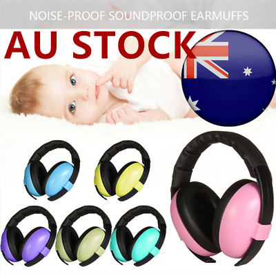 Kid Baby Adjustable Noise Cancelling Headphones Earmuffs Children Ear Protection