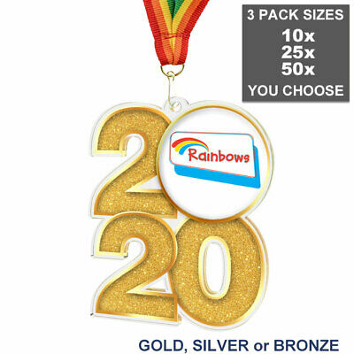 SET OF 50x LOGO PRINTED TROPHY MEDAL INSERTS ANY DESIGN//TEXT ACRYLIC DOMES 25mm