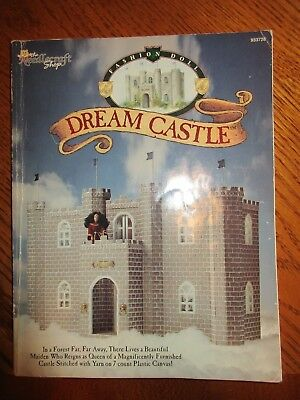 Fashion Doll Dream Castle & Furniture Plastic Canvas Pattern Book 146 Pages