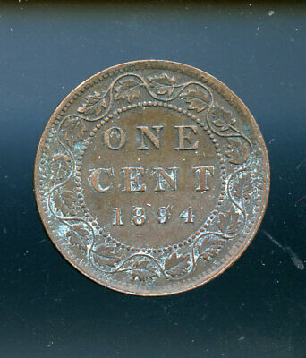 1894 Canada Large Cent VF or better CQ12