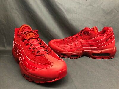 NIKE AIR MAX 95 Varsity Red Sneaker Men's Lifestyle Shoes