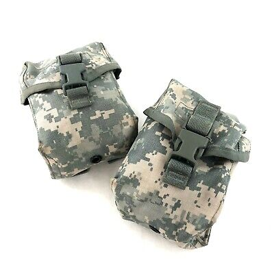 Military Individual First Aid Kit Pouch IFAK, ACU MOLLE Medical Pouch, 2 PACK
