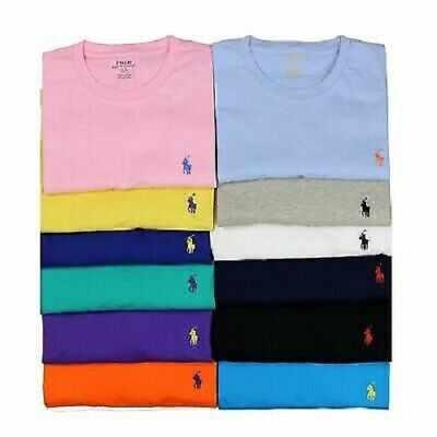 Men's Ralph Lauren Casual Tshirt Men's Crew Neck Short Sleeve Tee