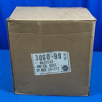 Vintage 1980`S He-Man Masters Of The Universe Toys Cardboard Shipping Carton Box