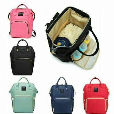 Baby Mummy Bag Changing Diaper Nappy Bag Travel Backpack Large Multi-Function